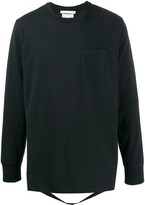 Helmut Lang strap detail T-shirt