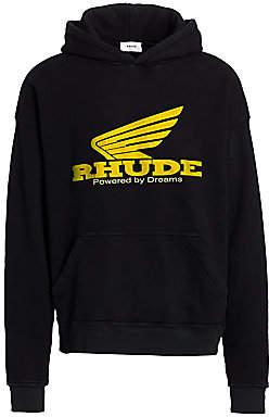 Rhude Men's Logo Hoodie
