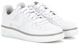 Nike Force 1 '07 Embossed Suede Sneakers
