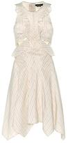 Isabel Marant Shelby ruffle cutout dress