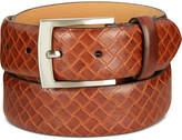 Tasso Elba Men's Embossed Leather Belt, Created for Macy's