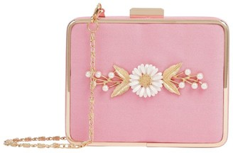 David Charles Filigree Daisy Box Clutch Bag