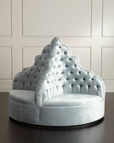 Haute House Amour Tufted Party Ottoman