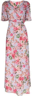 By Ti Mo Floral-Print Wrap-Style Dress