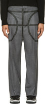 Givenchy Grey Basketball Pillar Trousers
