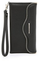 Rebecca Minkoff Iphone 6 Plus Leather Folio Wristlet Cell Phone Case