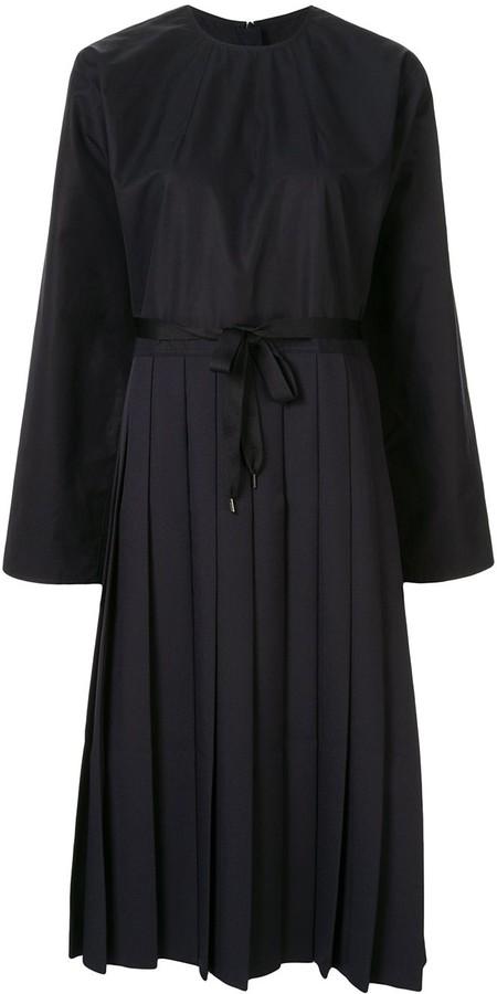 Sofie D'hoore Pleated Midi Dress