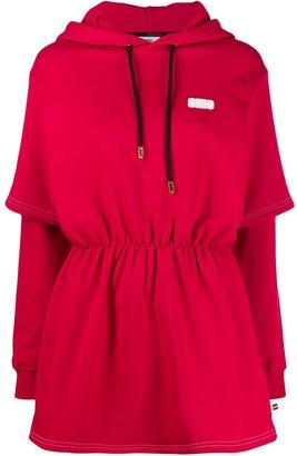 GCDS hooded mini dress