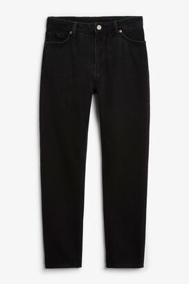Monki Kimomo deep black jeans