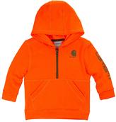 Carhartt Blaze Orange Fleece Half-Zip Hoodie - Infant