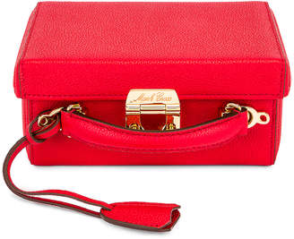 Mark Cross Small Grace Box Bag in Red | FWRD