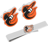 Cufflinks Inc. Men's Baltimore Orioles Cufflinks and Tie Bar Gift Set