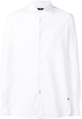 Fay long-sleeve fitted shirt