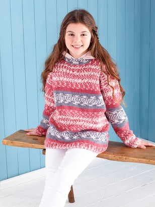 King Cole Fjord Children's Jumpers Knitting Pattern, 5650