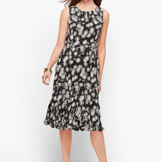 Talbots Sleeveless Fit & Flare Dress
