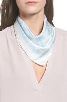 Rebecca Minkoff Women's Handkerchief Paisley Silk Scarf