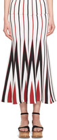Gabriela Hearst Aegina Striped Knit Skirt