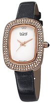 Burgi Women's BUR111GY Analog Display Swiss Quartz Grey Watch