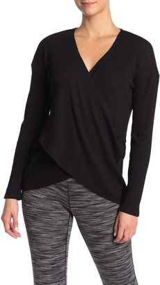 Threads 4 Thought Meridian Wrap Hem Top