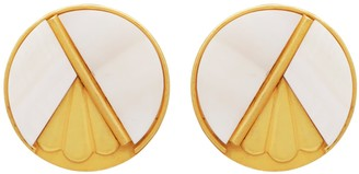 Carousel Jewels Mother Of Pearl Deco Earrings
