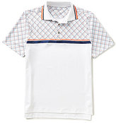 Bobby Jones Golf XH20 Printed Raker Short-Sleeve Polo Shirt