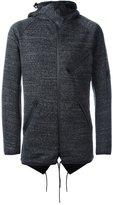 Y-3 zip up hoodie - men - Cotton/Polyester - M