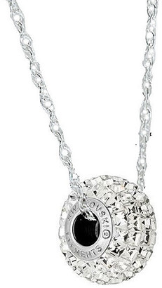 Swarovski Sevil 925 Women's Necklaces - Sterling Silver Clear Be Charmed Necklace With Crystals From