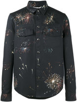 Valentino firework printed jacket - men - Cotton/Polyester - 46