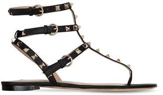 Valentino 10mm Rockstud Leather Sandals