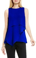 Vince Camuto Sleeveless Asymmetrical Layer Blouse