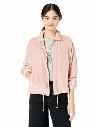 BB Dakota Junior's Chillax Textured Velvet Jacket