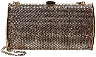Judith Leiber Slim Curved Rectangle Clutch