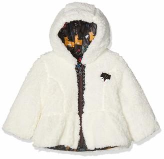 Catimini Baby Girls' CP42023 Parka REVERSIBL Rain Jacket