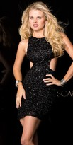 Scala Side Cut Out Homecoming Dress