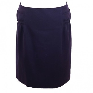 Marni Purple Wool Skirt for Women