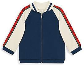 Gucci Baby Boy's & Little Boy's Interlock G Stripe Track Jacket