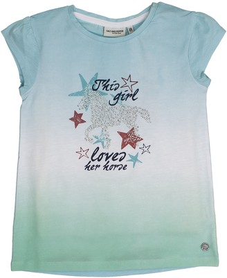 Salt&Pepper Salt and Pepper Girls' T-Shirt Horses uni Steine