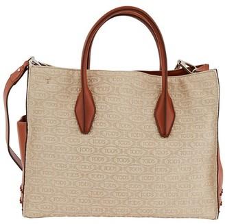 Tod's Alber Elbaz x media logo shopping bag