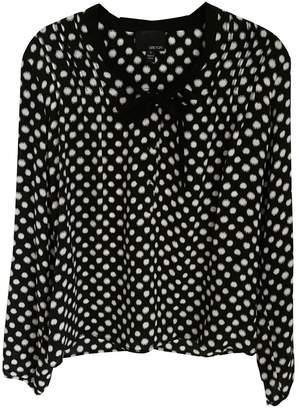 Greylin Black Silk Top for Women