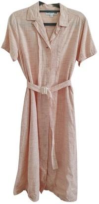 Uniqlo Orange Linen Dress for Women