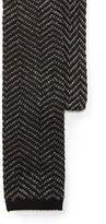 Polo Ralph Lauren Zigzag Knit Linen-Cotton Tie