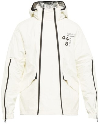 Moncler Tyler Paper Touch Double Zip Jacket - Mens - White