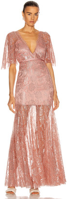 Alice McCall Be Mine Gown in Blush | FWRD