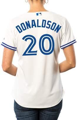 Majestic Ladies Josh Donaldson Toronto Blue Jays Cool Base Replica Home Jersey