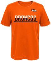 Nike Boys 8-20 Denver Broncos Practice Dri-FIT Tee