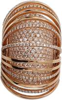 MATTIA CIELO Pavone Diamond Pave Ring