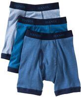 Hanes 3-pk. comfortsoft ringer boxer briefs - boys 2-20