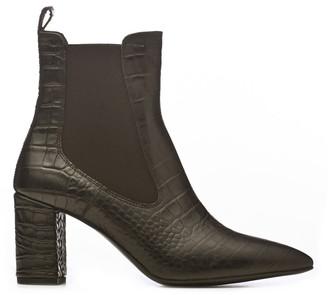 Janet & Janet Janet&janet Mock-croc Ankle Boots