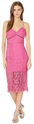 Bardot Roxy Lace Dress (Pink Pop) Women's Dress