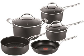 Tefal Jamie Oliver by Premium Hard Anodised 5 Piece Cookware Set